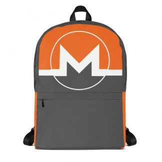 monero cryptocurrency backpack