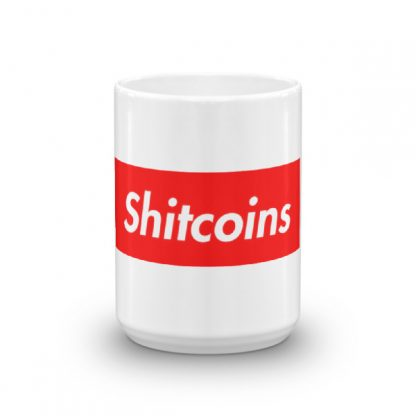 shitcoins coffee mug