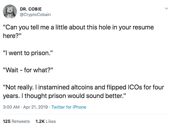 crypto cobain twitter