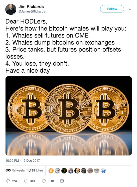 rickards hates bitcoin
