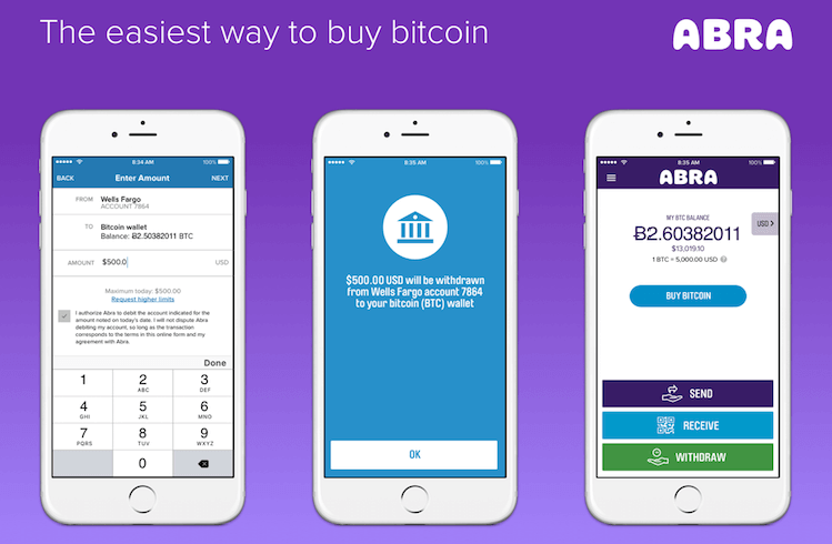 abra crypto buying process