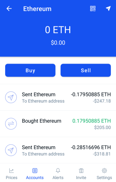 ethereum trading on coinbase
