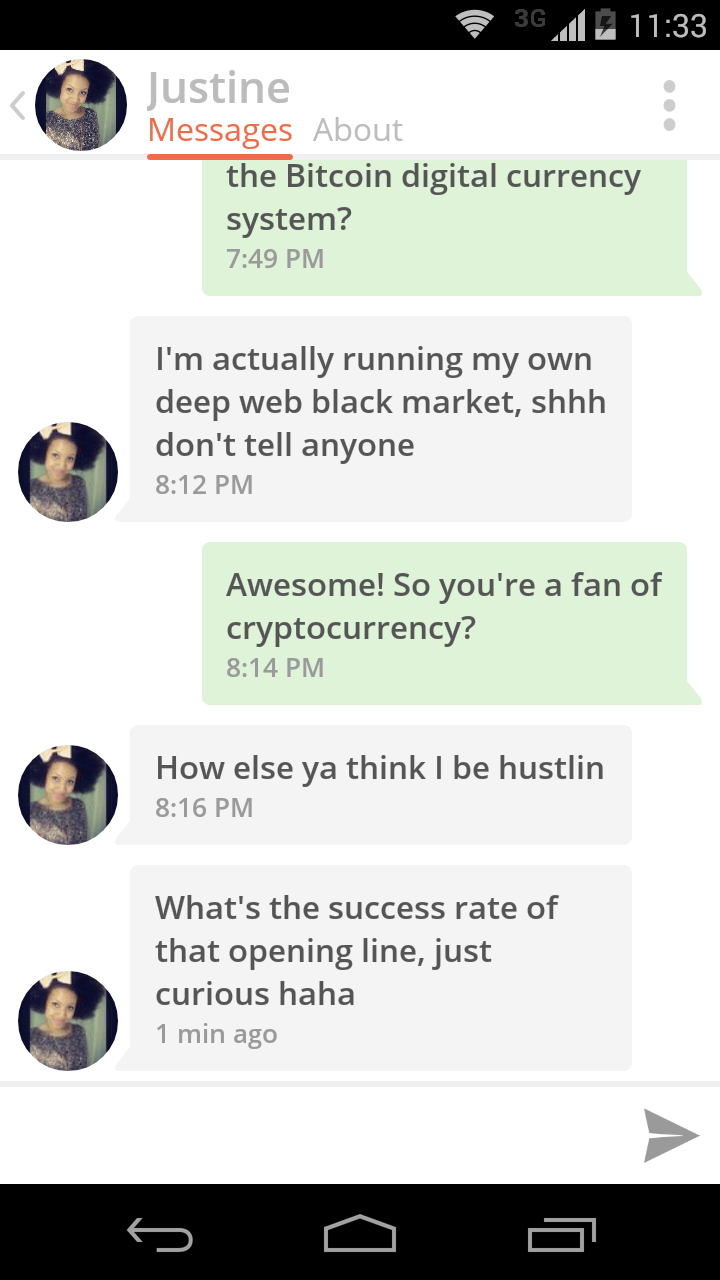 The Women of Tinder Talk Bitcoin | Cryptocurrency Posters