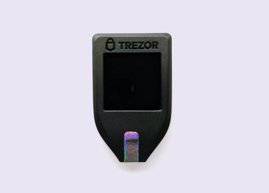 trezor close up