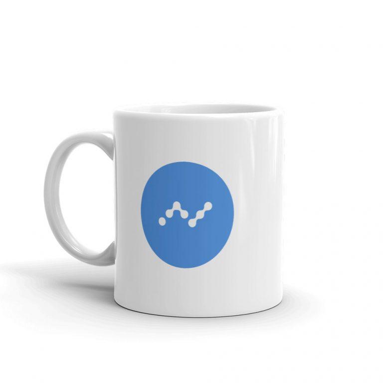 Nano Crypto Logo Mug   Pay With Crypto