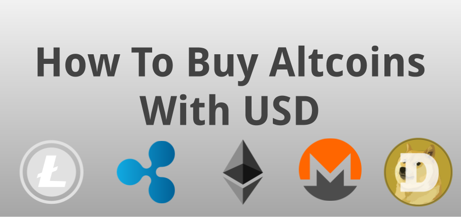 buying altcoins with usd